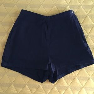 American Apparel high waisted hot shorts